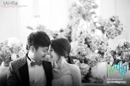 .Pre-wedding photos of trot singer Park Hyun-bin and bride-to-be unveiled .