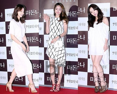 赏析韩国女星清新优雅的白色夏装搭配