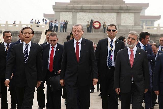 [영상중국] 위구르족 문제 中과 갈등 불구, 터키 대통령 방중