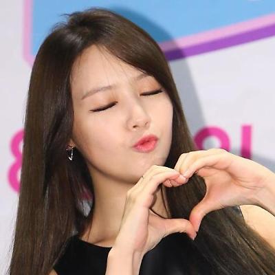 걸스데이 민아, 사랑의 하트 입술