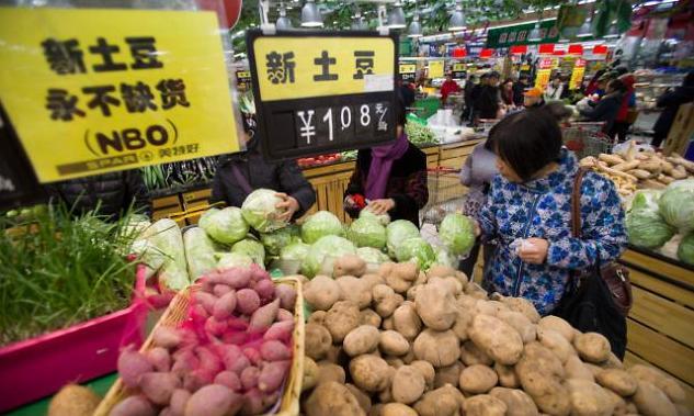 중국 7월 물가상승률 1.6% 전망