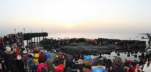 5米岩,釜山影岛区生岛,全罗南道丽水干汝岩,济州道济州市绝明屿,全罗