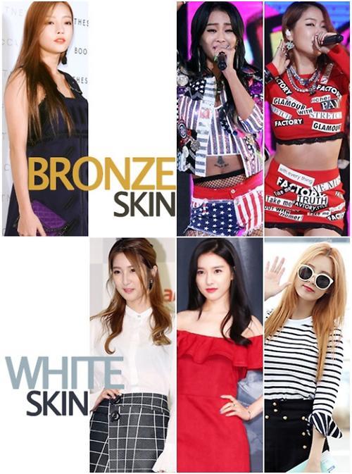 韩星教你夏季肤色如何巧搭美妆