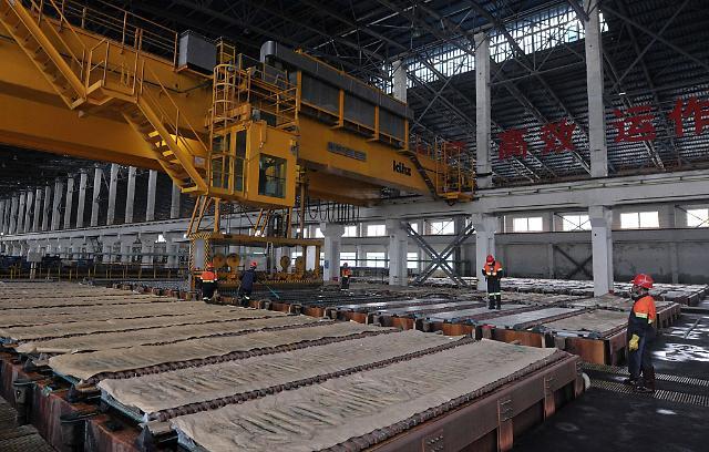 [영상중국] 7월 공업기업 순익 2.9% 급감