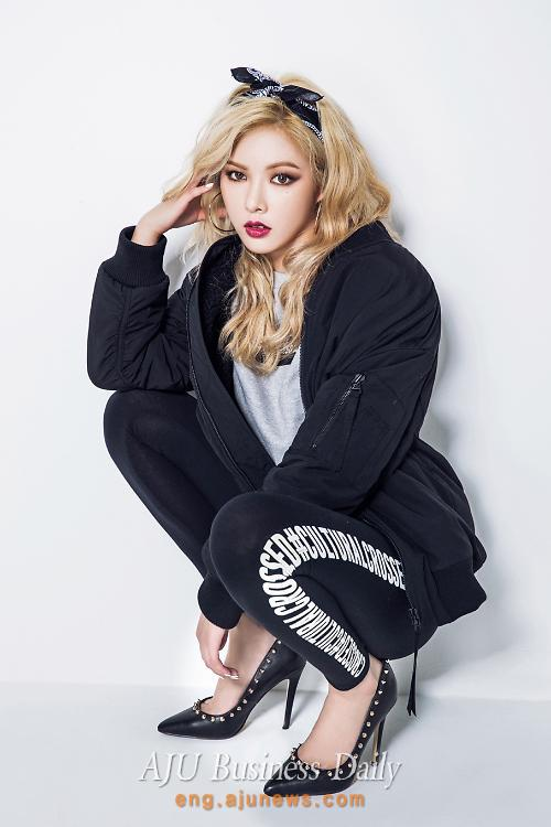 4minute 39 S Hyuna In Sporty Hip Hop Style Outfits Shows Off
