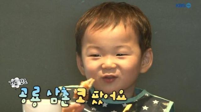[미방송분] '슈퍼맨이 돌아왔다' 삼둥이 민국, 식사 도중 공룡 삼촌의 나쁜 행동 포착…송일국 반응은?