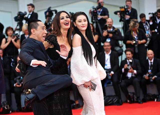 [영상중국] 베니스 영화제 레드카펫 밟은 중국의 '별'