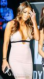 .Octagon girl Arianny Celeste visits Seoul to promote UFC event  .