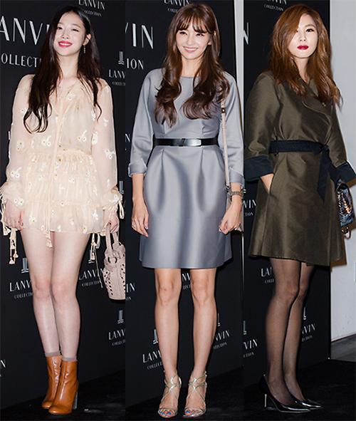 感受韩流女星充满爱意的时尚穿搭