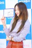 Suzy at promotional event for Clalen Iris lens