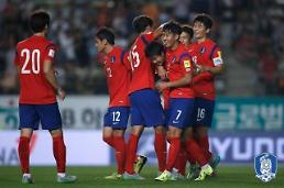 South Korea climbs 4 notches to 53rd in FIFA rankings