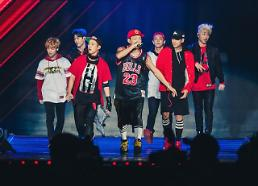 .New boy band iKON holds debut concert  .