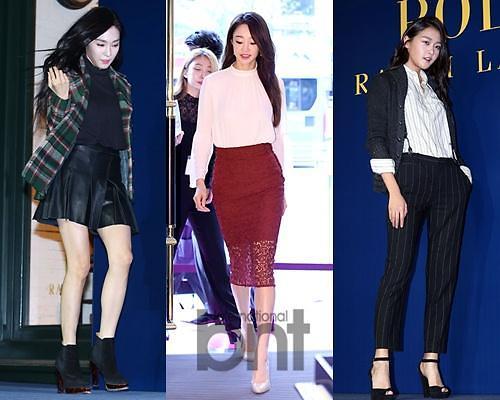 韩女星巧搭示范2015秋冬流行单品