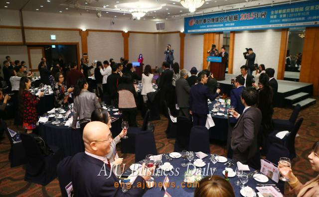 Reception for participants in conference of Overseas Chinese Media Cooperation Organization held
