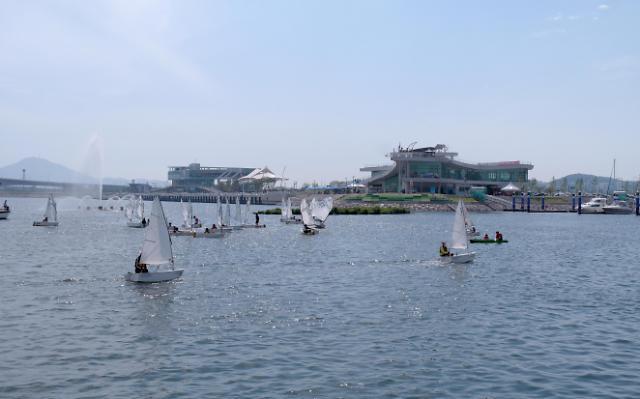 韩国京仁阿拉运河掀起沿岸经济热