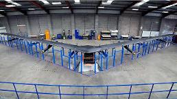 Facebook's gigantic drone gets ready for test flight