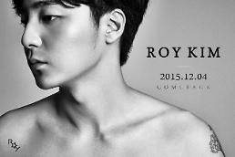 .Roy Kim下月初发布第三张专辑.