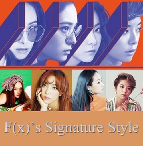 """f(x)""""四人帮""""绚丽回归 大秀时尚造型"""