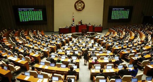 한·중 FTA 비준동의안, 국회 본회의 통과