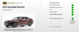 Hyundai Genesis chosen for IIHS' Top Safety Pick