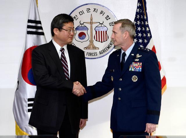 """韩美共同签订""""炭疽菌防止政策""""  协议即时生效"""