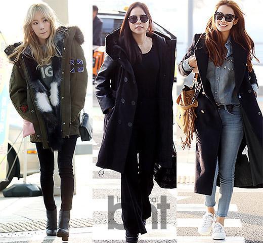 韩女星外套巧搭 带给你不一样的时尚美
