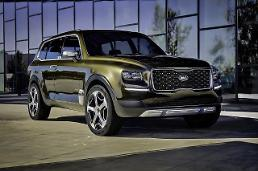 .Kia introduces hulking SUV Telluride.