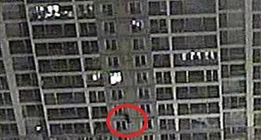 Night climber arrested for apartment burglary