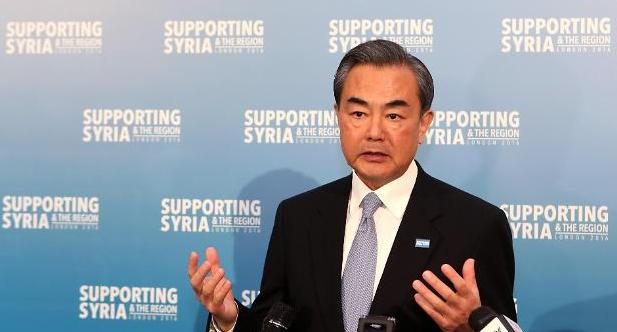 왕이 中 외교부장, '사드 반대, 역내 안정과 중국 이익 훼손'