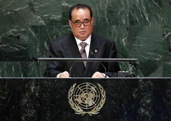 朝外长李洙墉月底出席联合国人权大会