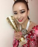 Rhythmic gymnast Son wins South Koreas biggest sports award