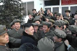 North Korea leader inspects missile factory