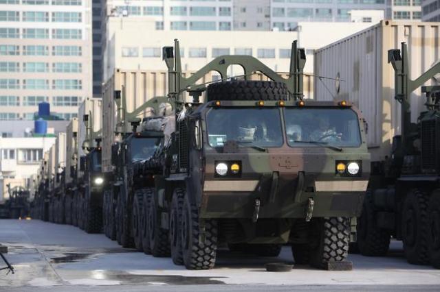 韩美继续对朝军事施压  史上最大规模韩美联合军演于7日启动