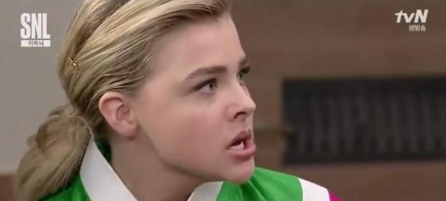 Chloe Moretz parodies K-Drama on 'SNL Korea'