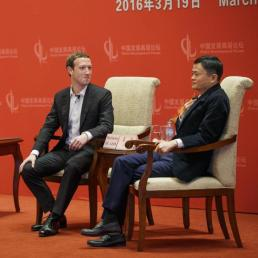 Why did Zuckerberg ditch his hoodie on his visit to China?