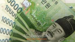 [AJU PHOTO] South Korea's won weakens after dollar's global rise