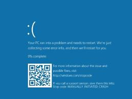 MS adds QR code to Blue Screen of Death on Windows 10