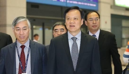 韩产业部长周亨焕会见贵州省委书记陈敏尔