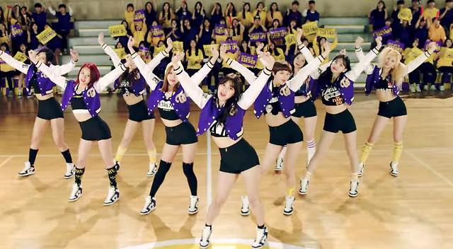 TWICE drops Cheer Up MV, dominates real-time charts