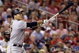 강정호 연타석 홈런에 외신들 흥분 8개월만의 복귀, 위력 증명