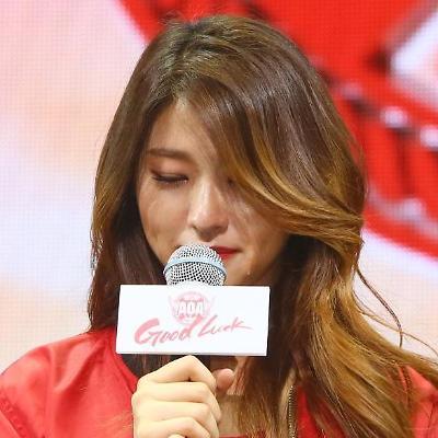 AOA 설현의 눈물