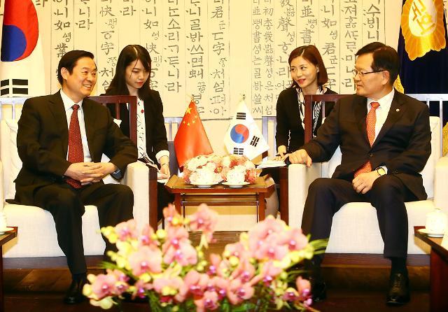 刘奇葆访韩之旅助推两国文化传承升华