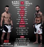 UFC Fight Night 토마스 알메이다 vs 코디 가브란트 맞대결