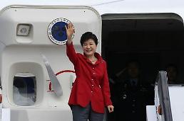 .朴槿惠参加韩法商务论坛与韩流活动  践行经济文化外交.