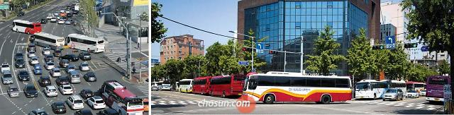 韩观光巴士交通堵塞亟待解决 专家建议分散游客访问时间
