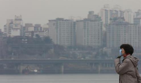 韩国2060年恐成大气污染致死高危国家