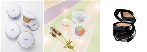 韩国气垫化妆品热度不减 新品频出竞争激烈