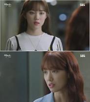 """'닥터스4회'이성경,박신혜에""""홍지홍 선생 결혼했어.꿈도 꾸지마"""""""