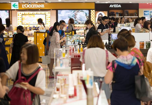 乐天免税店总店扩建开张 目标达成2.78万亿韩元销售额