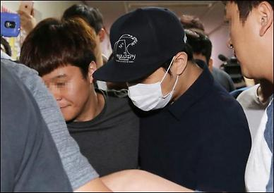 .Yoochun summoned for questioning over sex scandal.